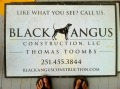 Black Angus Construction logo