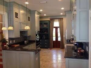 Custom kitchens come to reality with Sasser Electric's professional installation team.